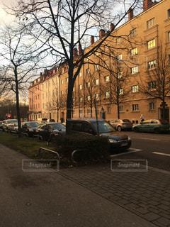 ヨーロッパの道路の写真・画像素材[2849703]