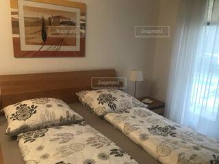 寝室の写真・画像素材[2890689]