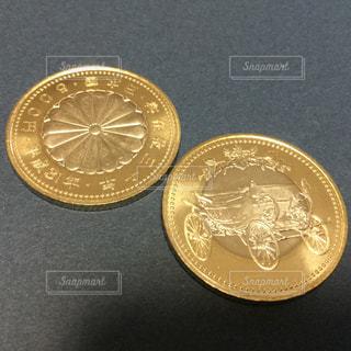 記念硬貨の写真・画像素材[1807628]