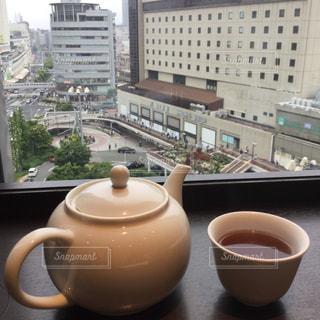 テーブルの上の中国茶の写真・画像素材[1822172]