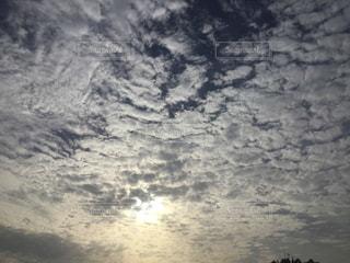 雲を撮ってみたの写真・画像素材[1822177]