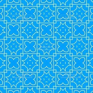 水色のパターン素材の写真・画像素材[3541824]