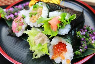 手巻き寿司の写真・画像素材[3364849]