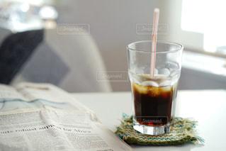 アイスコーヒーの写真・画像素材[2030113]