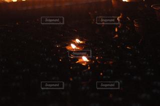 夜の街の景色の写真・画像素材[1800268]