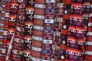 チベタンの織物の写真・画像素材[1800303]
