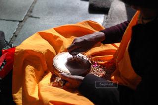 チベットの祈りの写真・画像素材[1800312]