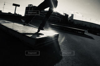スケートボードの写真・画像素材[1800771]