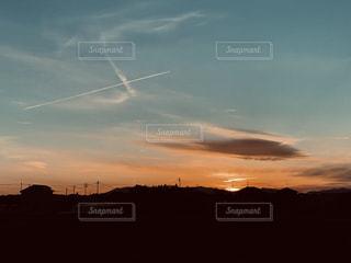夕暮れの空の写真・画像素材[1834164]