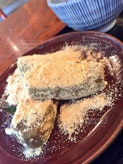 古民家カフェのわらび餅の写真・画像素材[1803723]
