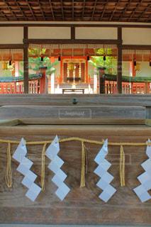 奈良の神社のお賽銭の写真・画像素材[1806078]
