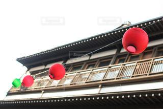 草津温泉街の提灯の写真・画像素材[1809471]