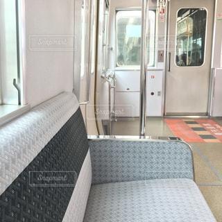 電車で旅への写真・画像素材[1814029]