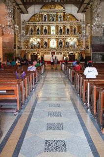 フィリピンセブ島のマニラ大聖堂の写真・画像素材[1839314]