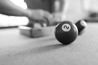 ビリヤードのボールアップの写真・画像素材[1839374]