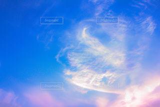 夕方の空の写真・画像素材[1858725]
