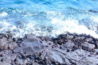 江ノ島の海と水しぶきの写真・画像素材[1858747]