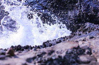 江ノ島の海の水しぶきの写真・画像素材[1858753]