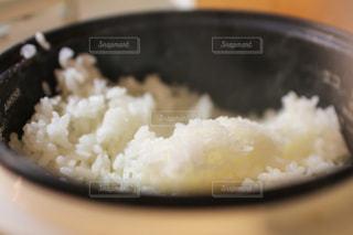 自炊の白ごはんの写真・画像素材[1858782]