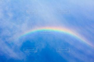 青空に虹の写真・画像素材[1872959]