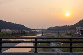 吉野川と橋の写真・画像素材[1998397]