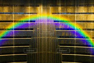 虹のライトアップの写真・画像素材[2021097]