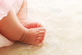 赤ちゃんの足の写真・画像素材[2021122]