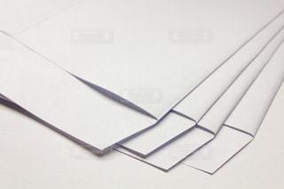白封筒の写真・画像素材[2065859]