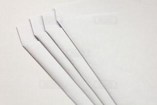 白封筒の写真・画像素材[2065860]