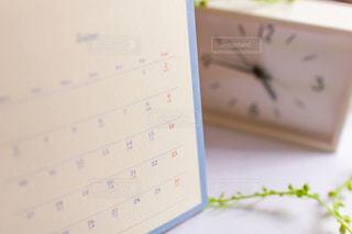 卓上カレンダーと父の日の写真・画像素材[2079676]