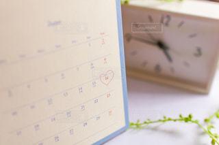 父の日 卓上カレンダーの写真・画像素材[2079707]
