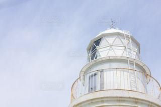 友ヶ島の白い灯台の写真・画像素材[2094932]