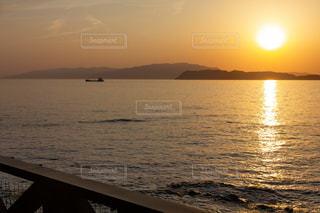 和歌山の夕日の写真・画像素材[2094954]