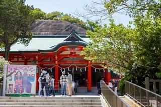 和歌山加太の淡嶋神社の写真・画像素材[2094996]