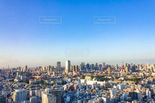東京タワーと街並みの写真・画像素材[2247152]