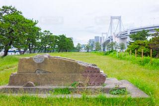 第三台場の砲台跡の写真・画像素材[2277446]