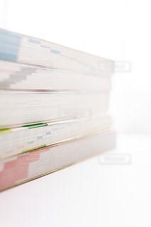 参考書を積み重ねるの写真・画像素材[2389059]