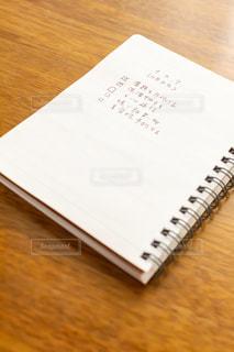 タスクをリストアップしたメモ帳の写真・画像素材[2953271]