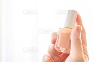 春色パステルカラー ピンクのネイル マニュキアの写真・画像素材[4034788]