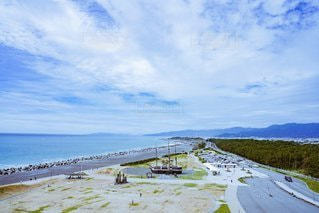 青空、海岸、港の写真・画像素材[2481836]