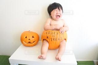 かぼちゃのパンツの履き心地の写真・画像素材[1804458]