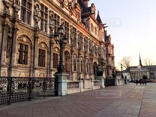 パリ市役所の写真・画像素材[1812552]