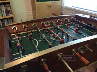 サッカーゲームの写真・画像素材[1805791]
