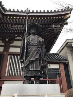 成田山仙台分院の弘法大師像の写真・画像素材[4227451]
