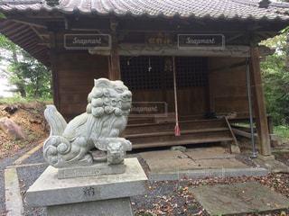 南相馬市小高区大富の熊野神社の写真・画像素材[1806900]