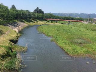 春の小川はさらさら行くよの写真・画像素材[2113468]