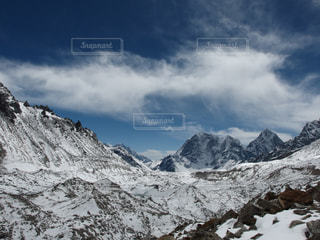 ヒマラヤの氷河の写真・画像素材[1808597]