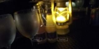 グランピングの夜の写真・画像素材[2394626]