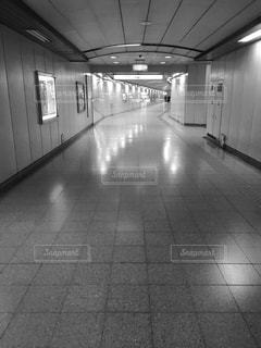 連絡通路の写真・画像素材[1846366]