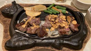 沖縄でステーキの写真・画像素材[1809385]